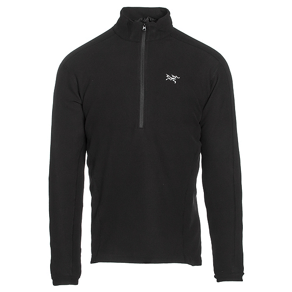 Arc'teryx Delta LT Zip Neck Mens Mid Layer, Black, 600