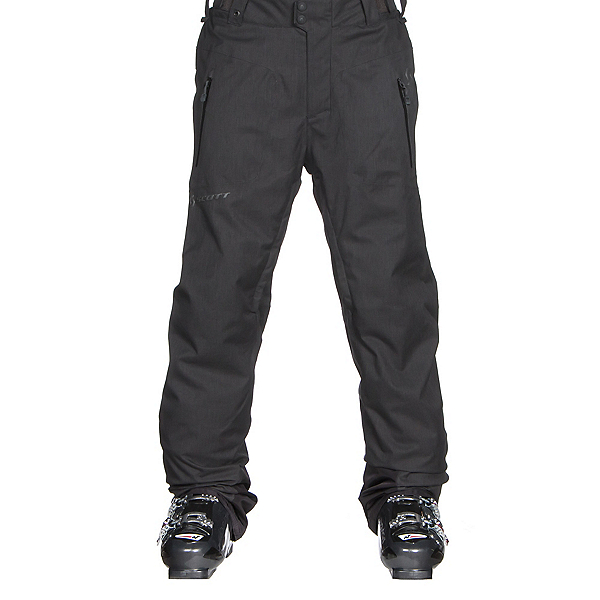 Scott Ultimate Dryo Mens Ski Pants, Black Heather, 600