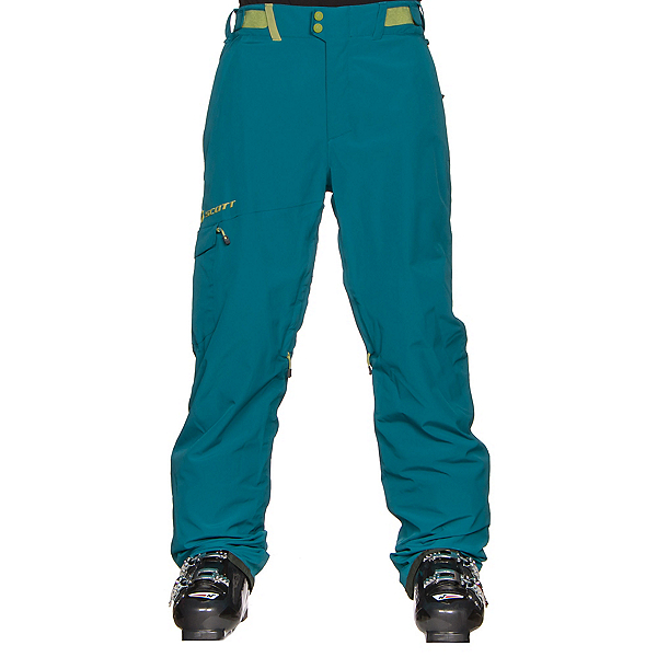Scott Terrain Dryo Mens Ski Pants, Maui Blue, 600