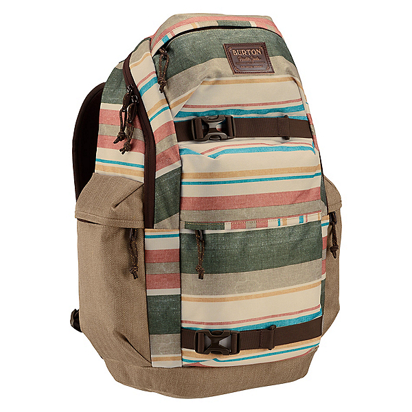 Burton Kilo Backpack 2017, Rancher Stripe Print, 600