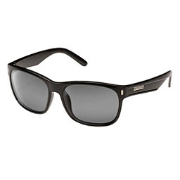 SunCloud Dashboard Sunglasses, Black-Grey Polarized, 256