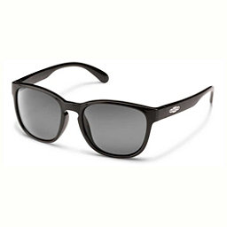SunCloud Loveseat Polarized Womens Sunglasses, Black-Gray Polarized, 256