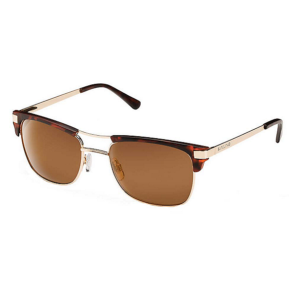 SunCloud Motorway Sunglasses, Matte Tortoise-brown polarized, 600