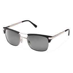 SunCloud Motorway Sunglasses, Matte Black-Gray Polarized, 256
