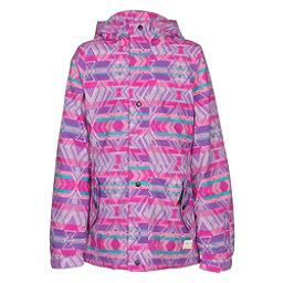 O'Neill Mystic Girls Snowboard Jacket, Grape Soda, 256
