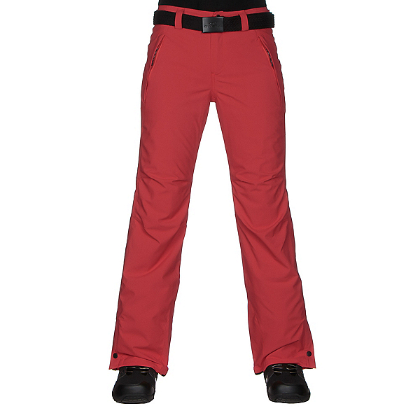O'Neill Star Womens Snowboard Pants, Poppy Red, 600