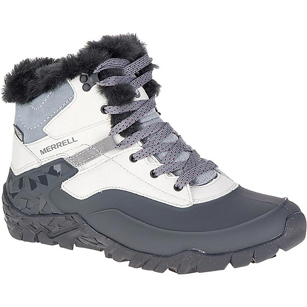Merrell Aurora 6 Ice Waterproof Womens Boots, Ash, 600