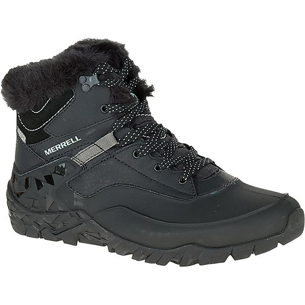 Merrell Aurora 6 Ice Waterproof Womens Boots, Black, 600
