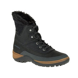 Merrell Sylva Mid Lace Waterproof Womens Boots, Black, 256
