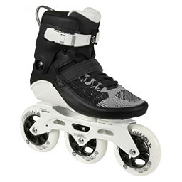 Powerslide Swell 110 Inline Skates 2017, Black-White, 256