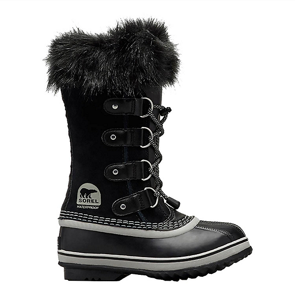 Sorel Youth Joan Of Arctic Girls Boots, Black, Oyster, 600