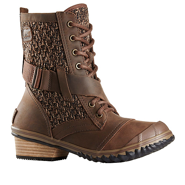 Sorel Slimboot Lace Womens Boots, Tobacco-Flax, 600