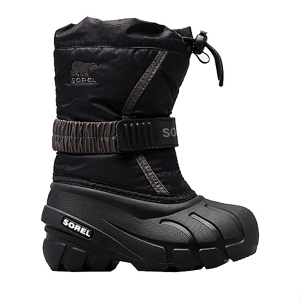 Sorel Flurry Kids Boots, Black City Grey, 600