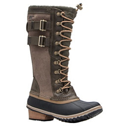 Sorel Conquest Carly II Womens Boots, Peatmoss-Glare, 256