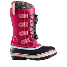 Sorel Joan Of Arctic Knit Girls Boots, Haute Pink, 256