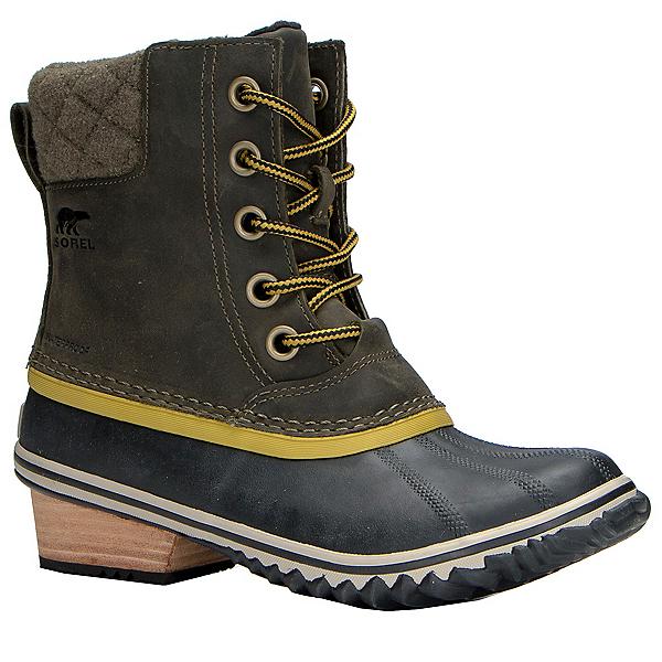 Sorel Slimpack II Lace Womens Boots, Peatmoss-Bog, 600