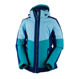 Obermeyer Valerie Womens Insulated Ski Jacket, Mermaid, 256