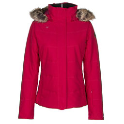 Obermeyer Tuscany w/Faux Fur Womens Insulated Ski Jacket, Cerise, 256