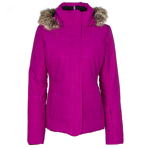 Obermeyer Tuscany w/Faux Fur Womens Insulated Ski Jacket, Violet Vibe, 600