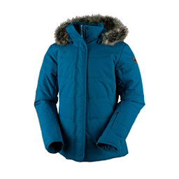 Obermeyer Tuscany w/Faux Fur Womens Insulated Ski Jacket, High Seas, 256