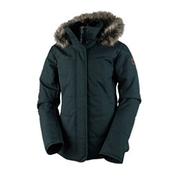 Obermeyer Tuscany Petite w/Faux Fur Womens Insulated Ski Jacket, Marble Grey, 256