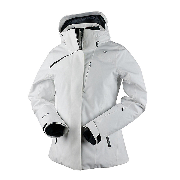 Obermeyer Zermatt Womens Insulated Ski Jacket, White, 600