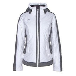 Obermeyer Chamonix Womens Insulated Ski Jacket, White, 256