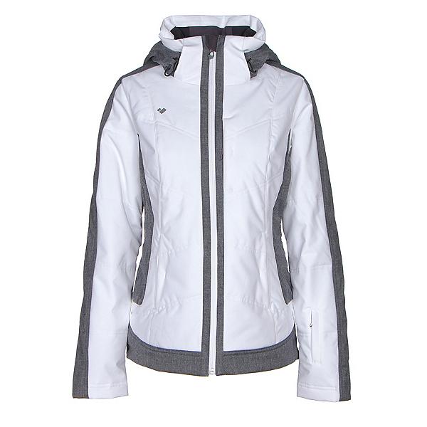 Obermeyer Chamonix Womens Insulated Ski Jacket, White, 600