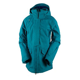 Obermeyer Aura Womens Insulated Ski Jacket, Mermaid, 256
