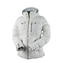 Obermeyer Leighton Petite Womens Insulated Ski Jacket, White, 256
