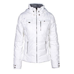 Obermeyer Leighton Womens Insulated Ski Jacket, White, 256