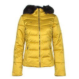 Obermeyer Bombshell w Faux Fur Womens Insulated Ski Jacket 29e87f8d0