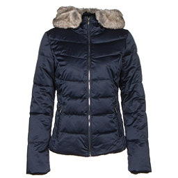 Obermeyer Bombshell w/Faux Fur Womens Insulated Ski Jacket, Storm Cloud, 256
