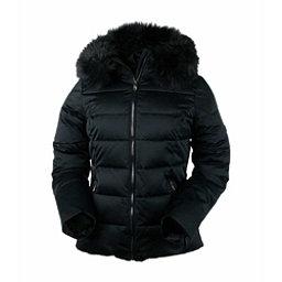 Obermeyer Bombshell Petite w/Faux Fur Womens Insulated Ski Jacket, Black, 256