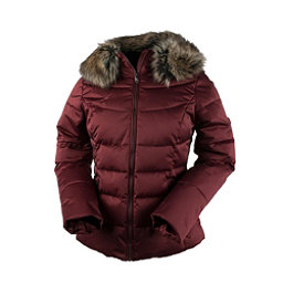 Obermeyer Bombshell Petite w/Faux Fur Womens Insulated Ski Jacket, Copper Beach, 256