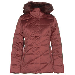 Obermeyer Bombshell Parka w/Faux Fur Womens Insulated Ski Jacket, Copper Beach, 256
