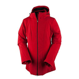 Obermeyer Siren Petite Womens Insulated Ski Jacket, Crimson, 256