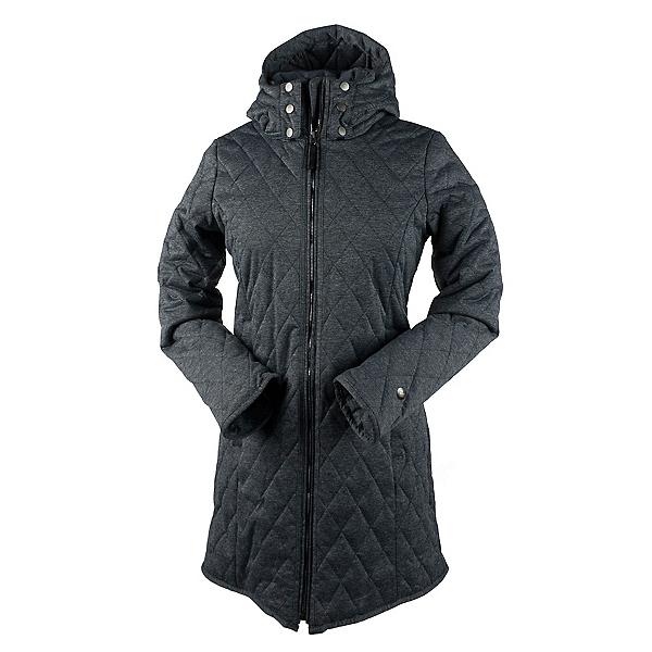 Obermeyer Desi Long Insulator Womens Jacket, Dark Heather Grey, 600