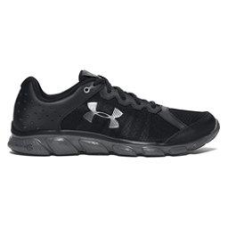Under Armour Micro G Assert 6 Mens Athletic Shoes, Black-Rhino Gray-Rhino Gray, 256