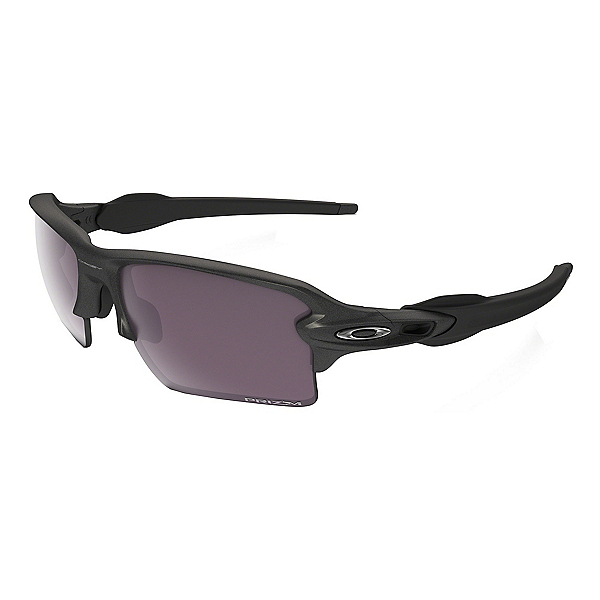 Oakley Flak 2.0 XL Prizm Polarized Sunglasses, Steel-Prizm Daily Polarized, 600