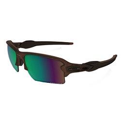 Oakley Flak 2.0 XL Prizm Polarized Sunglasses, Matte Rootbeer-Prizm Shallow Water Polarized, 256