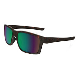 Oakley Mainlink Prizm Polarized Sunglasses, Matte Tortoise-Prizm Shallow, 256