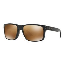 Oakley Holbrook PRIZM Polarized Sunglasses, Matte Black-Prizm Tungsten Polarized, 256