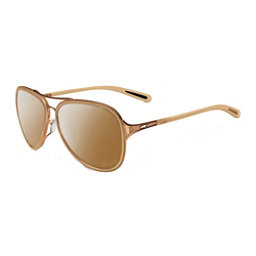 Oakley Kickback Polarized Womens Sunglasses, Rose Gold-Tungsten Iridium Polorized, 256