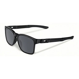 Oakley Catalyst Sunglasses, Polished Black-Black Iridium, 256