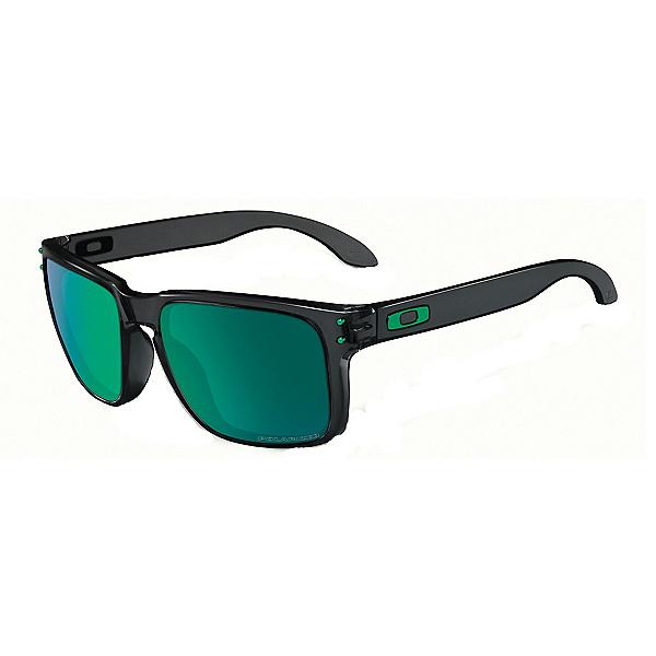 Oakley Holbrook Polarized Sunglasses, Black Ink-Jade Iridium Polarized, 600