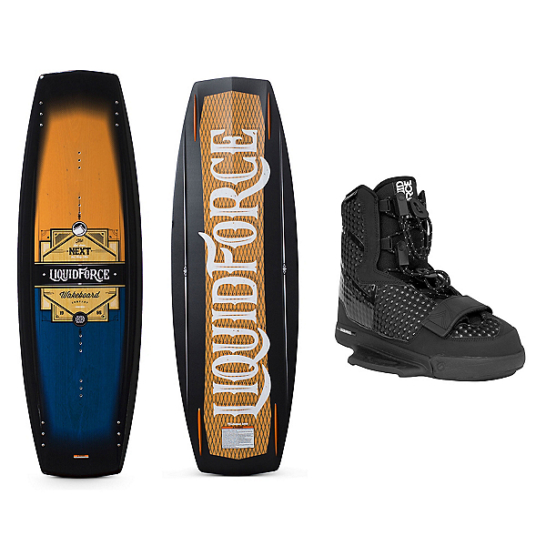 Liquid Force Next Wakeboard With Next Bindings, 139cm, 600
