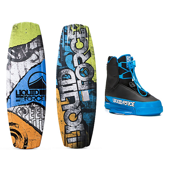 Liquid Force Classic Wakeboard With Tao Bindings, , 600