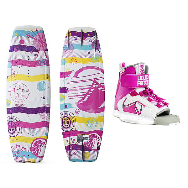 Liquid Force Dream Kids Wakeboard With Dream Bindings, , 600