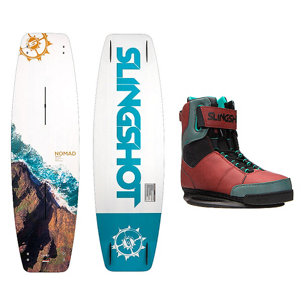 Slingshot Nomad Wakeboard With R.A.D. Bindings, , 600